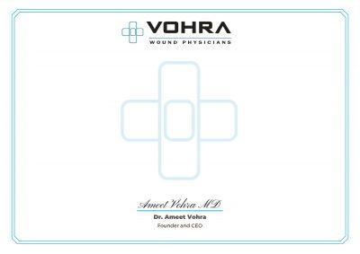 Vohra Wound Care Certification